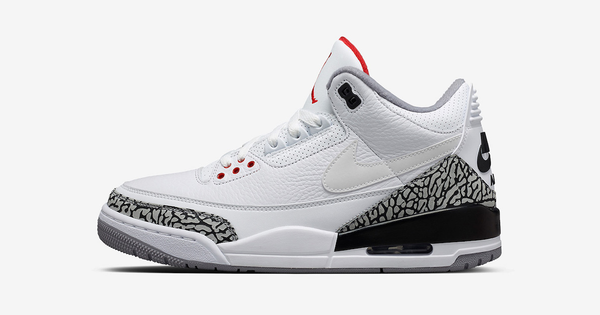 Justin Timberlake's Air Jordan 3 JTH is restocking this week