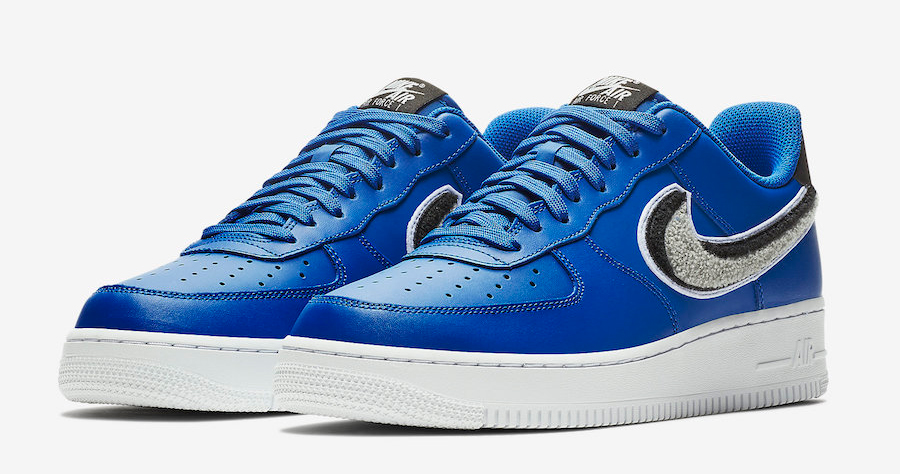 The Air Force 1 looks charming in Chenille