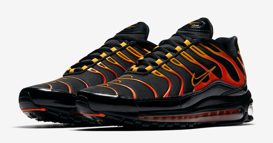 This Air Max 97 Plus hybrid samples an old colorway
