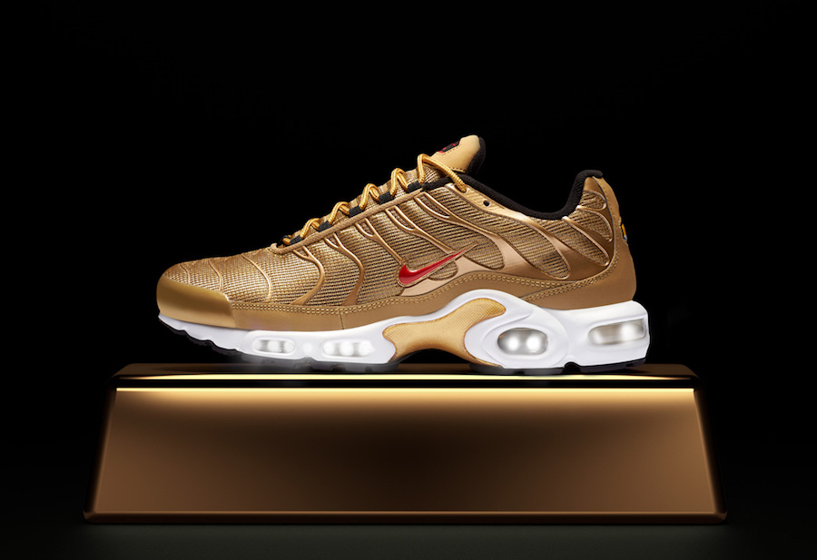 The Air Max Plus joins the \