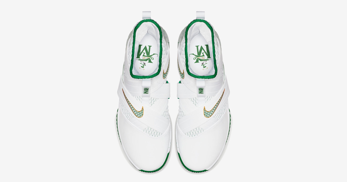outlet store 7fcb8 cda24 LeBron nods his High School with this latest Solder 12