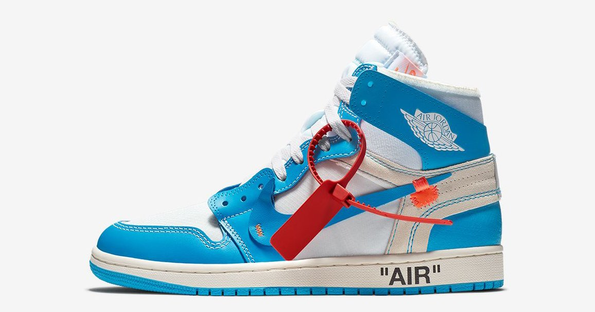 Where to cop the UNC Off-White x Air Jordan 1