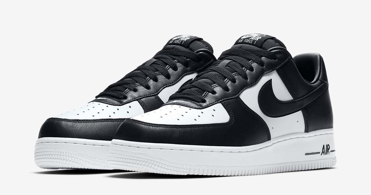 Dress down your graduation gown in these Tuxedo AF1 Lows
