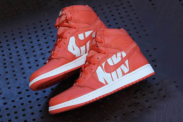 Big Branding hits the Air Jordan 1