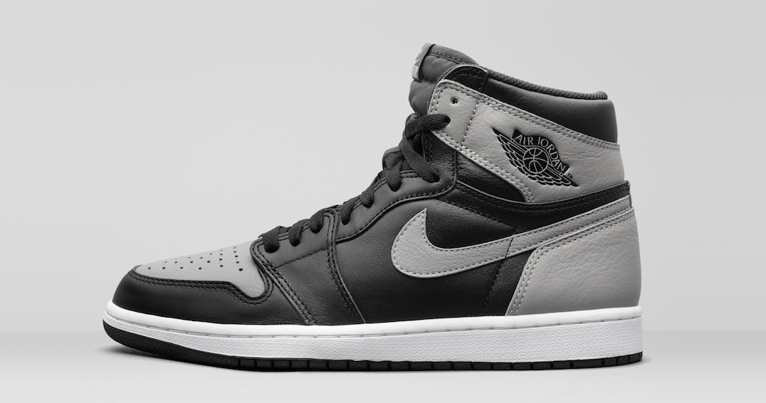 "The Air Jordan 1 ""Shadow"" restocks TODAY"