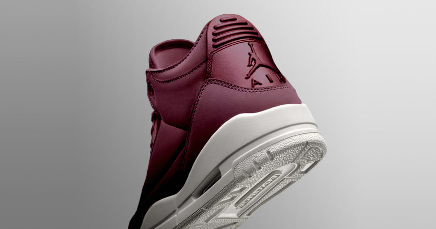"There's a ""Bordeaux"" Air Jordan 3 on the way"