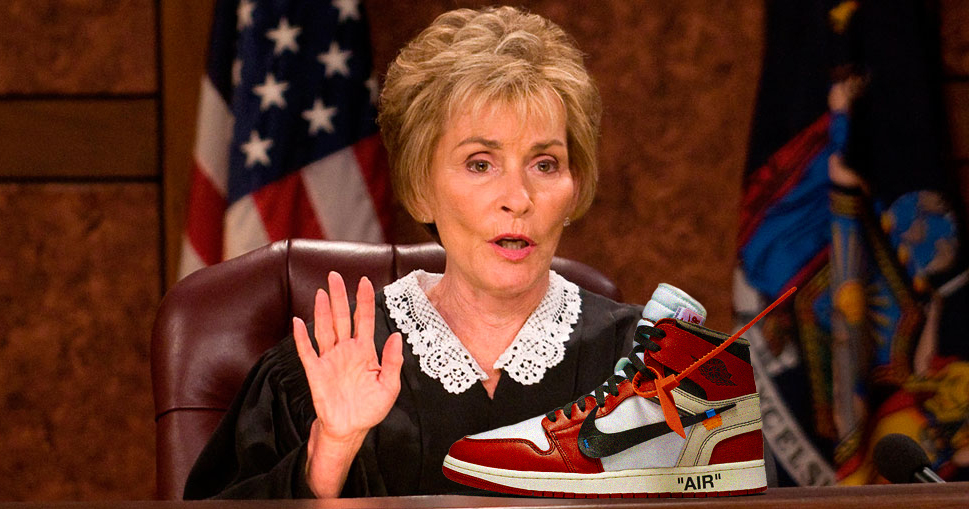 Watch Judge Judy throw the hammer down on a sneaker fraud
