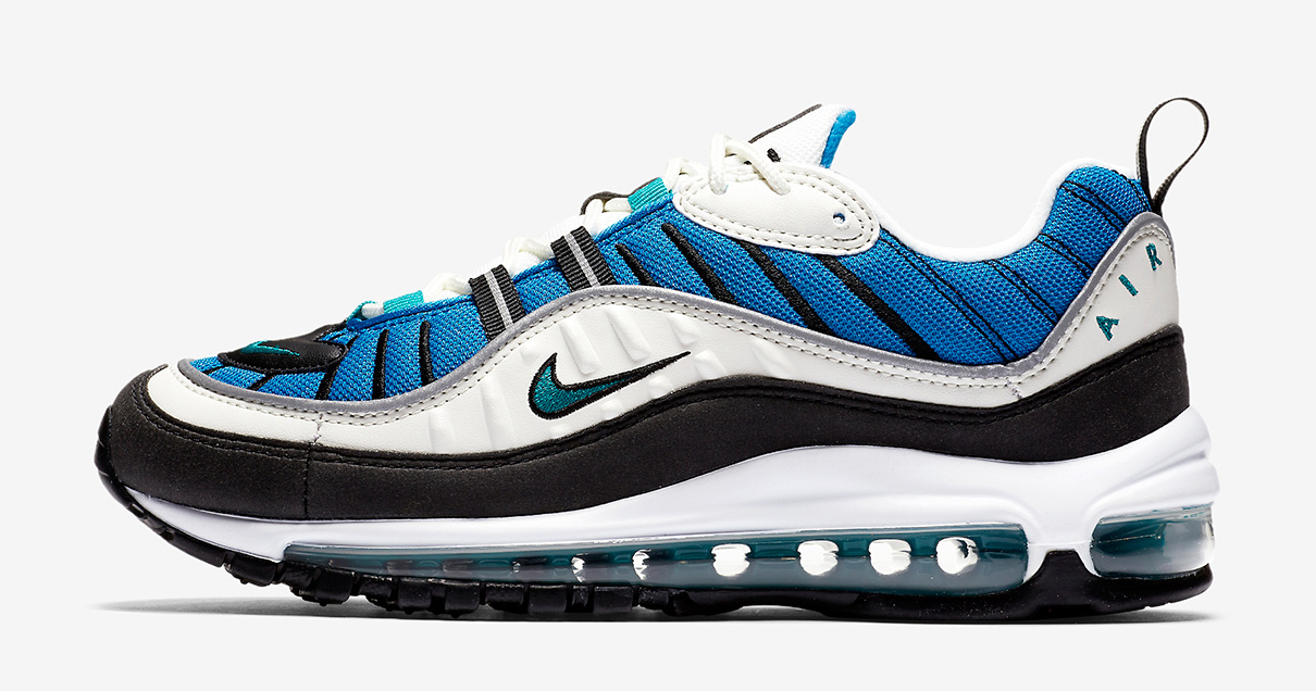 The Air Max 98 looks more radiant than ever