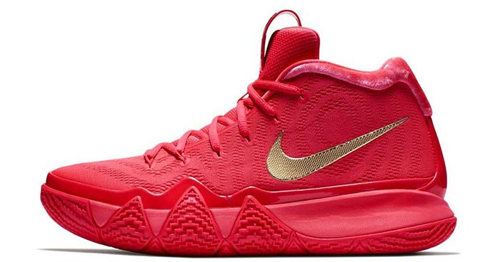 Nike roll out the Red Carpet for Kyrie and the Celtics