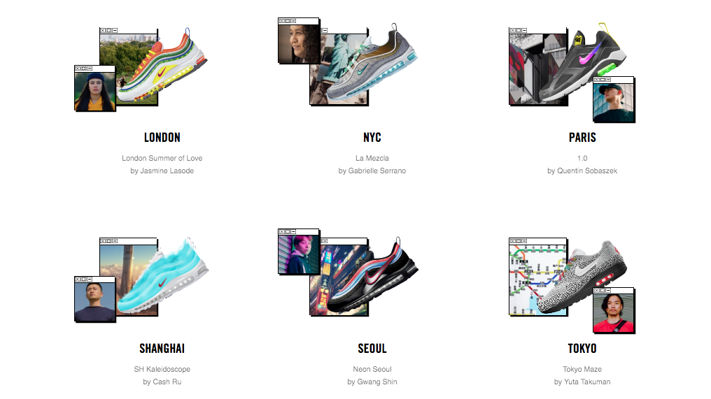 "Vote Now! Nike's Air Max ""On Air"" design polls are now open"