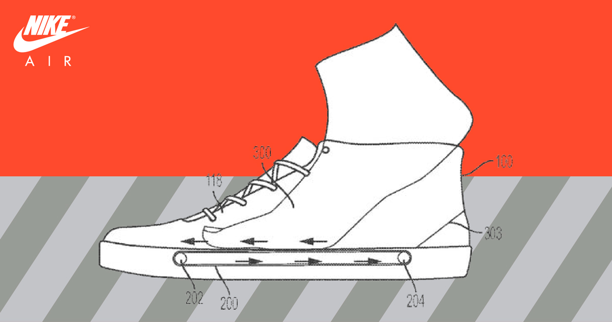 Nike want to create treadmill-fitting sneakers
