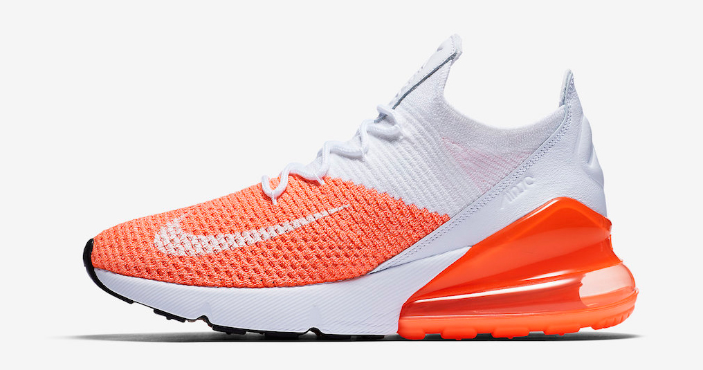 """Nike's Air Max 270 Flyknit is back in """"Crimson Pulse"""""""