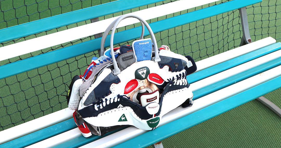 This designer turns recycled sneakers into exclusive bags