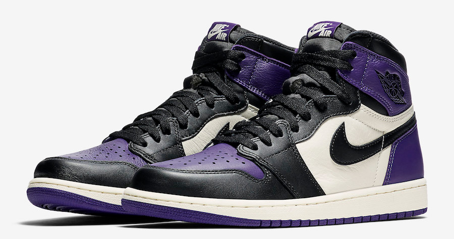 "Official Images // Air Jordan 1 ""Court Purple"""