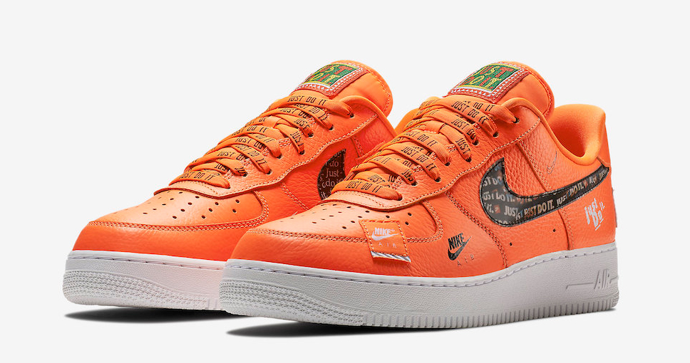 "Official images // Air Force 1 Low ""Just Do It"""