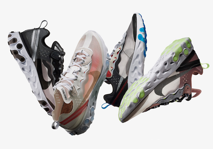 Nike unveil their React Element 87