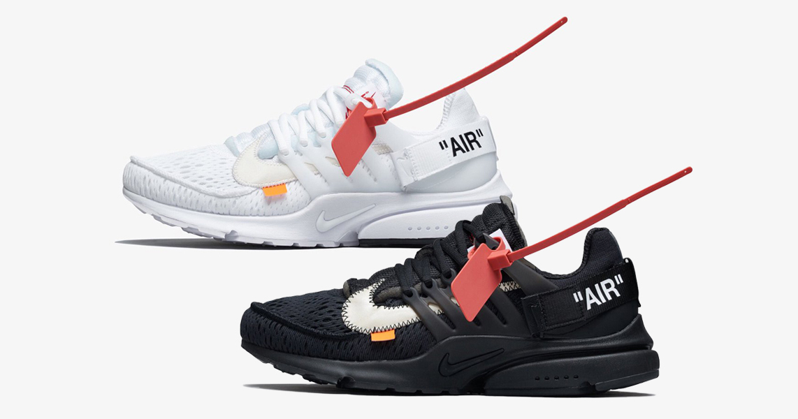 ea2ee4db771145 Detailed looks    Off-White x Nike Air Presto
