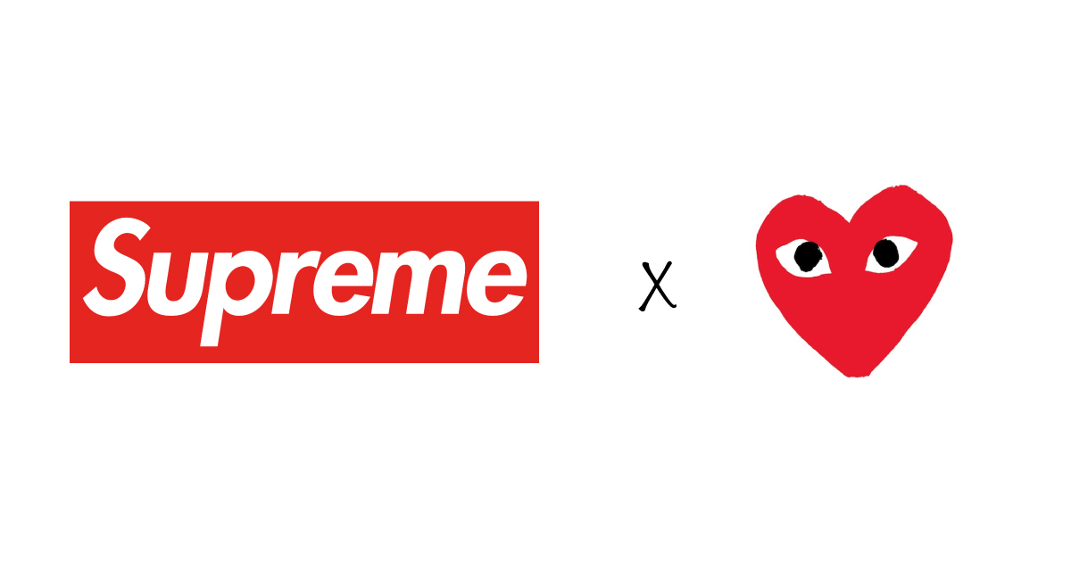 First look // Supreme x Comme Des Garçons x Nike Air Force 1