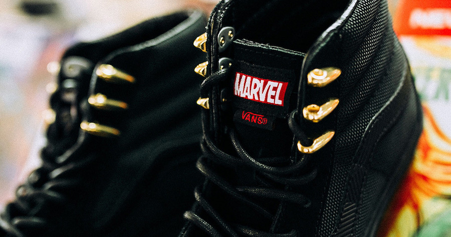 Marvel have teamed up with Vans for an Avengers collection