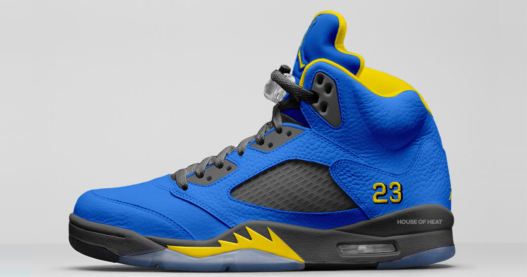 There's two more Jordan Laney 5s on the way