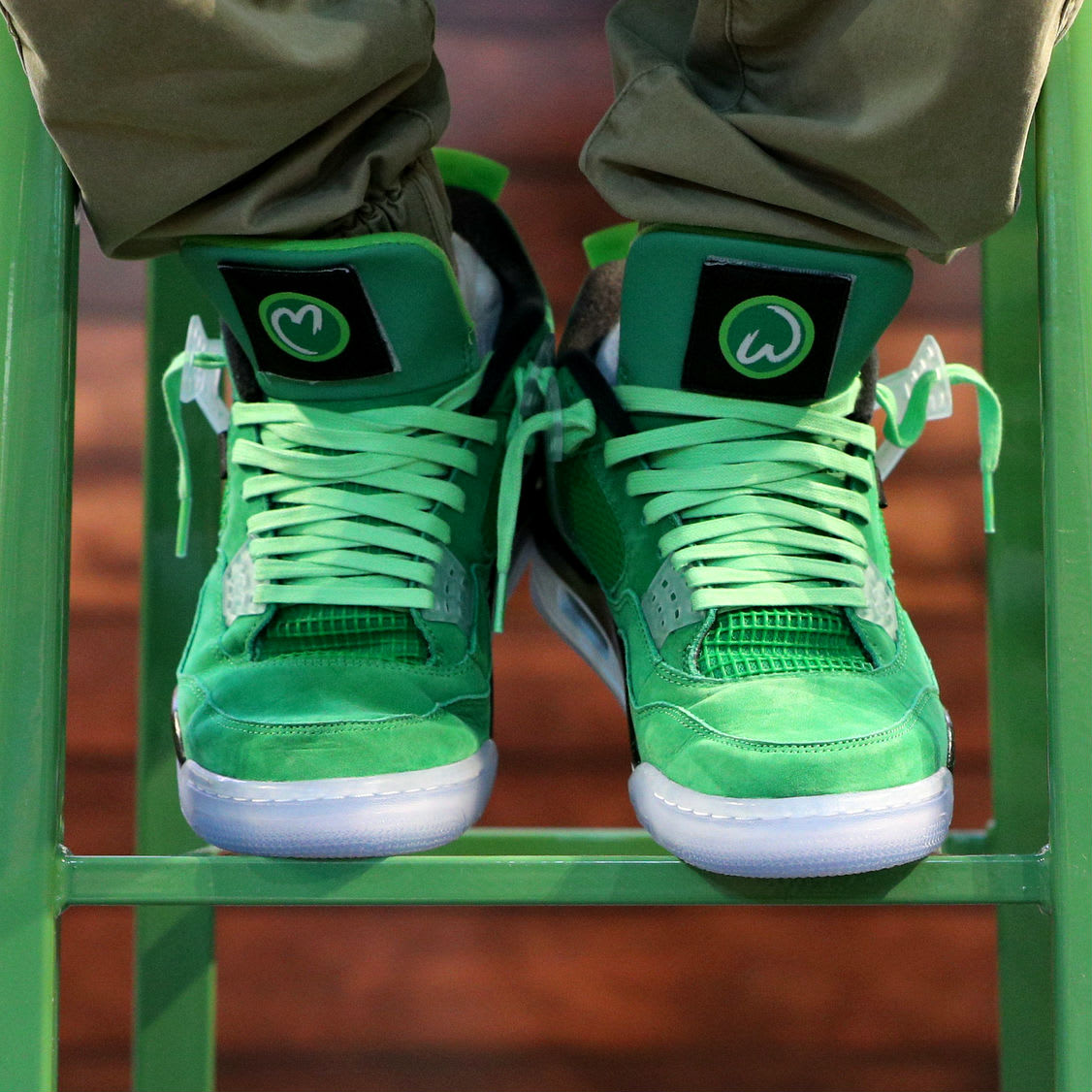 "Here's How You Can Get a Pair of Mark Wahlberg's ""Wahlburger"" Air Jordan 4s"