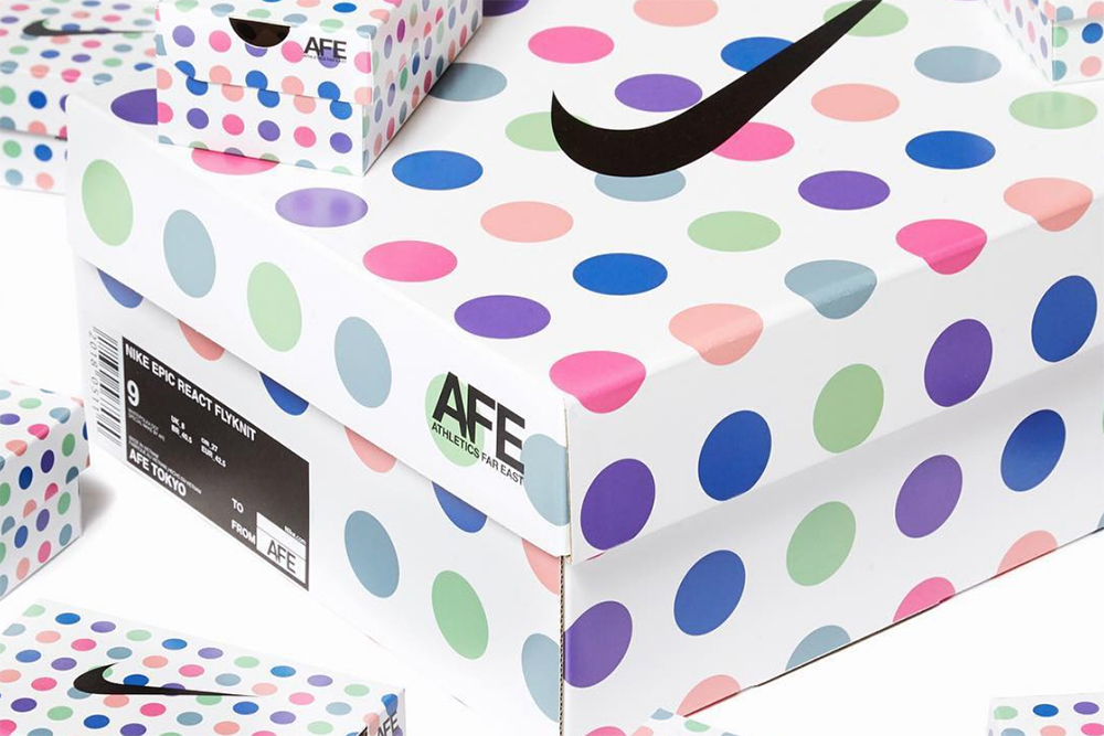 We love a good box — and Nike have delivered