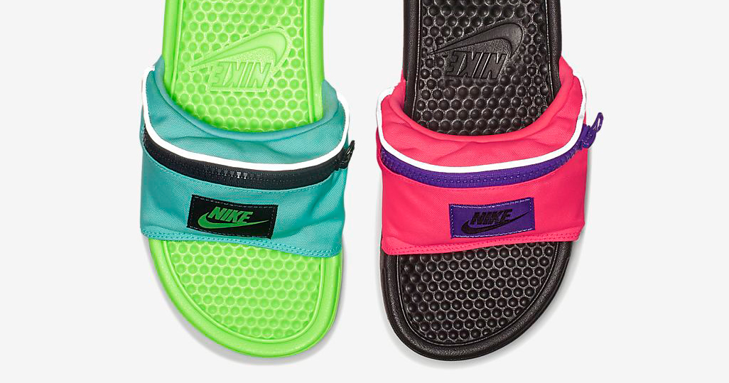 bef53b54e5dd Nike just dropped Fanny Pack slides.