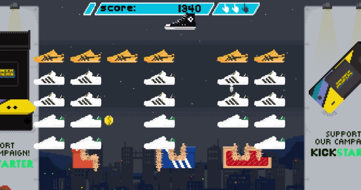 Play Now: Sneaker Invaders
