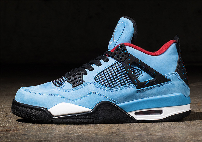 "quality design a4d7d ded0f Where to Buy // Travis Scott x Air Jordan 4 ""Houston Oilers ..."