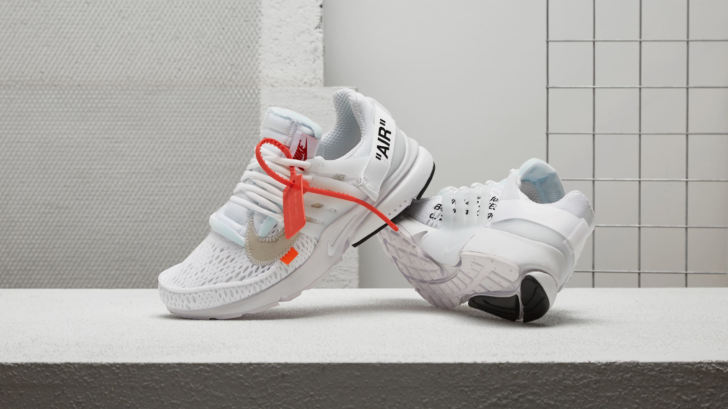 Where to Buy the Off-White x Nike Presto 'White'