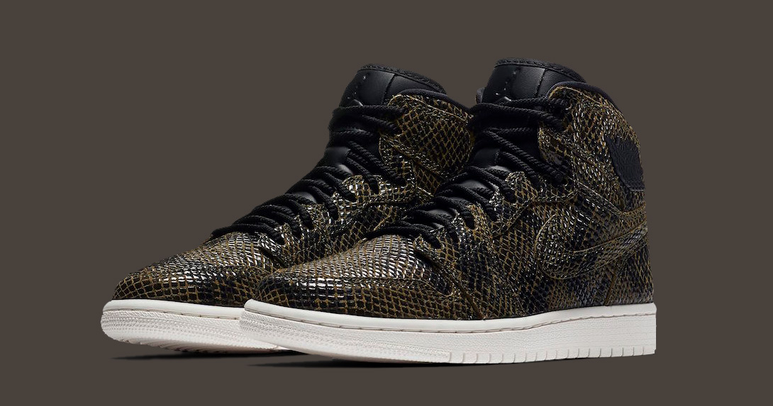 "Available Now // Air Jordan 1 ""Snakeskin"""