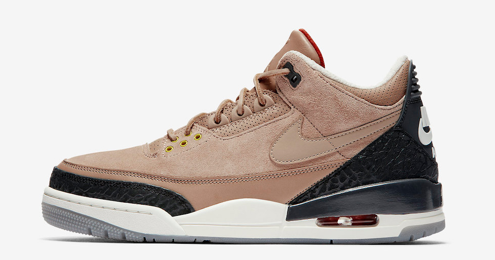 "Official images // Air Jordan 3 JTH NRG ""Bio Beige"""