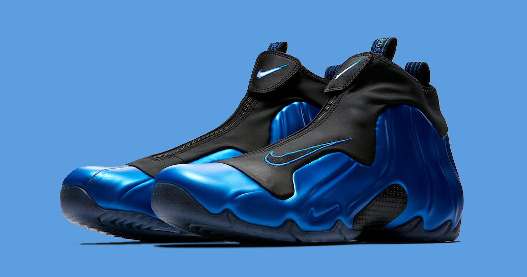 "new product 59d97 3e051 Nike Air Flightposite is back in ""Neon Royal"""
