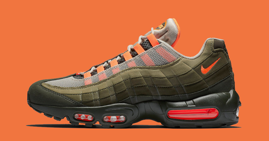 Nike's Next AirM Max 95 is Draped in Undefeated Duds