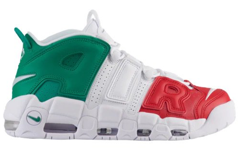 The More Uptempo heads to Italia