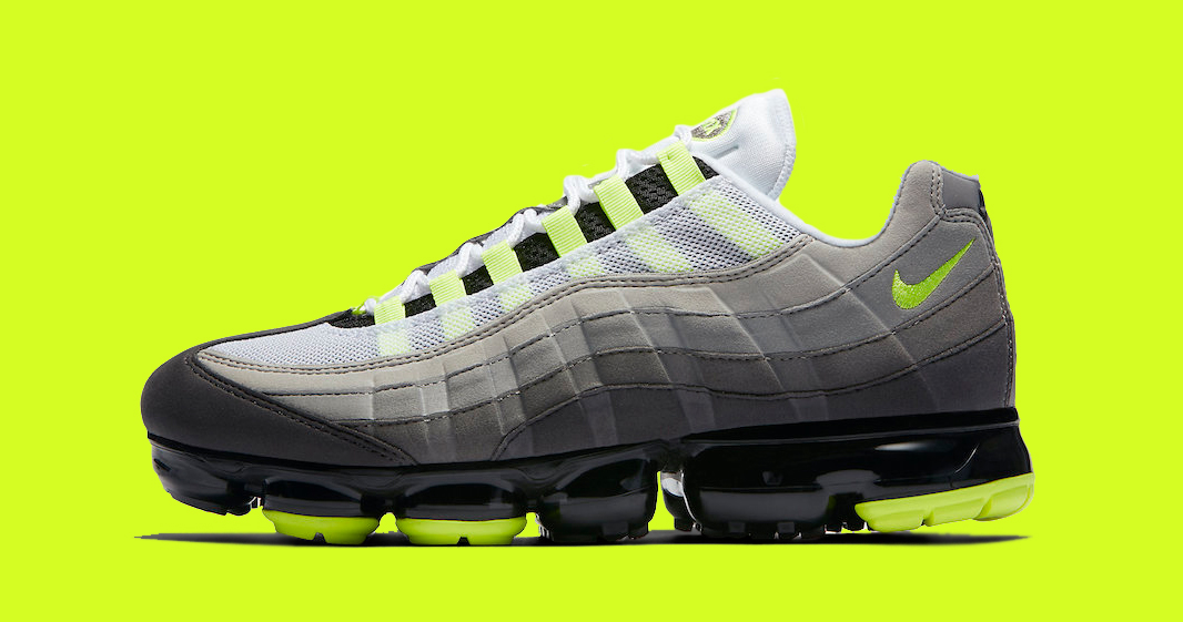 "Release Details for the Nike Air VaporMax 95 ""Neon"" are here!"