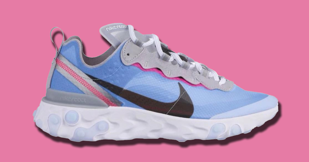 Leaked! New colorways Nike React Element 87