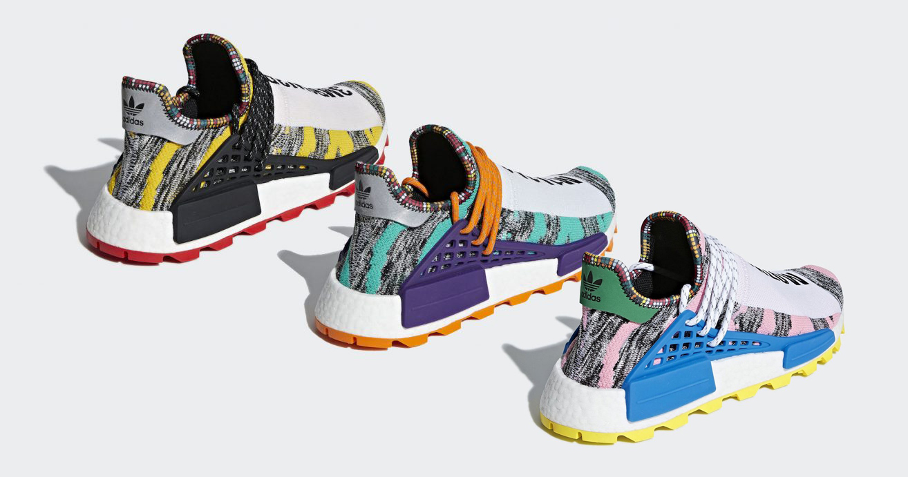 "Pharrell's Third and Final Colorway of his NMD Hu ""Solar Pack"" is Revealed!"