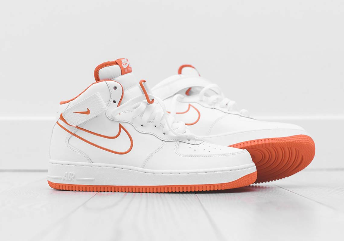 the best attitude 60c42 06ac4 purchase nike air force 1 orange neon 9568d e5ce6