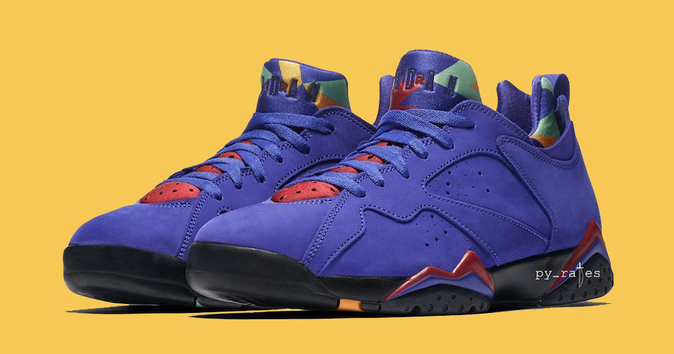 "Official Images // Air Jordan 7 Low NRG ""Bright Concord"""