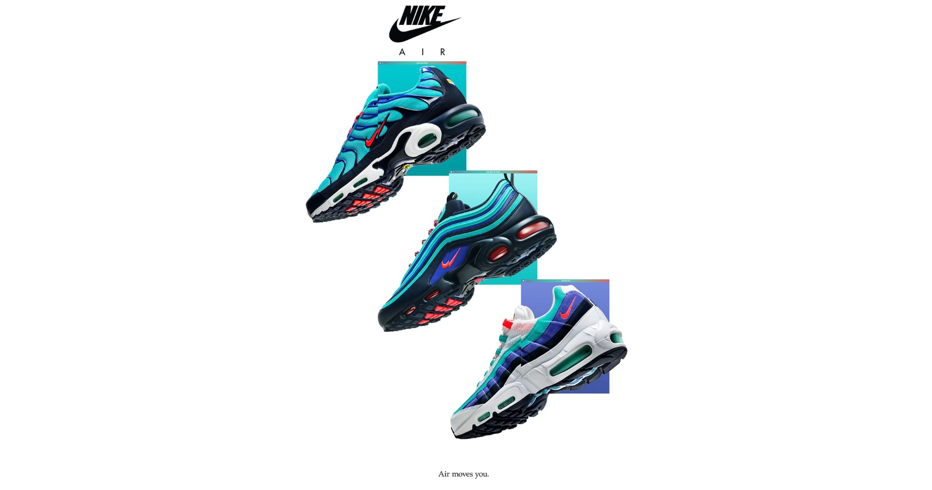 "Release Reminder! The Air Max ""Discover Your Air"" Pack releases on Thursday!"