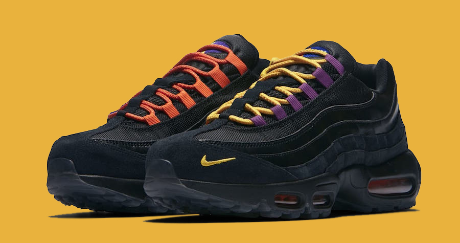 These Air Max 95s Shout Out the Knicks and the Lakers