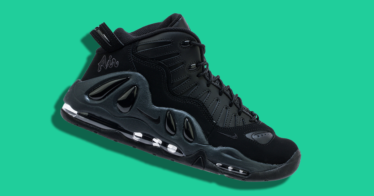 The Uptempo 97 is Back in Black