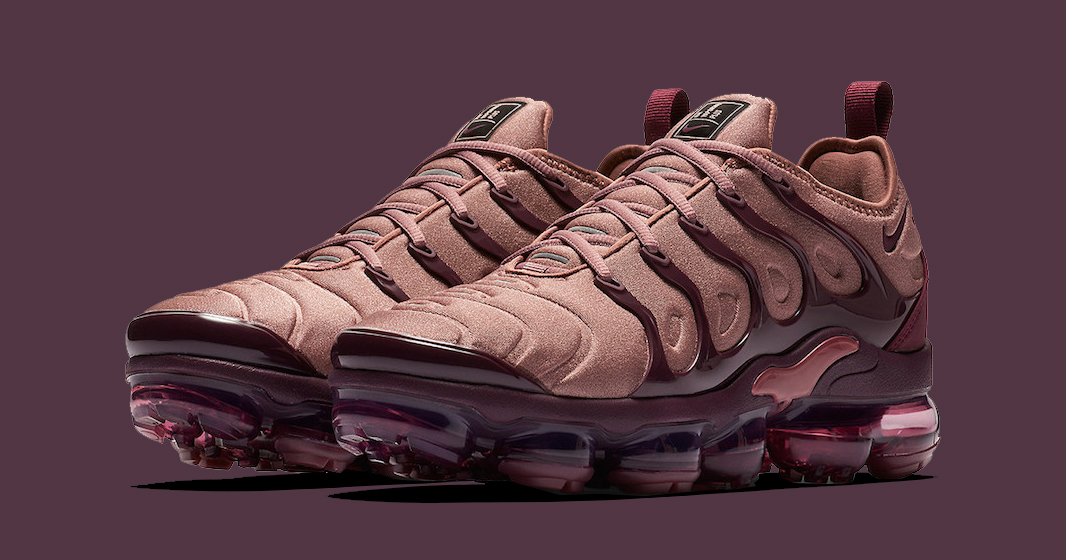 A Release Date is set for the Smokey Mauve VaporMax Plus