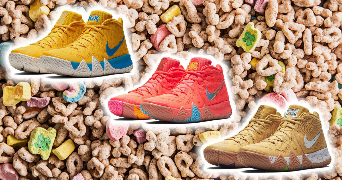 "timeless design 24210 17fec How to Buy the Nike Kyrie 4 ""Cereal Pack"""