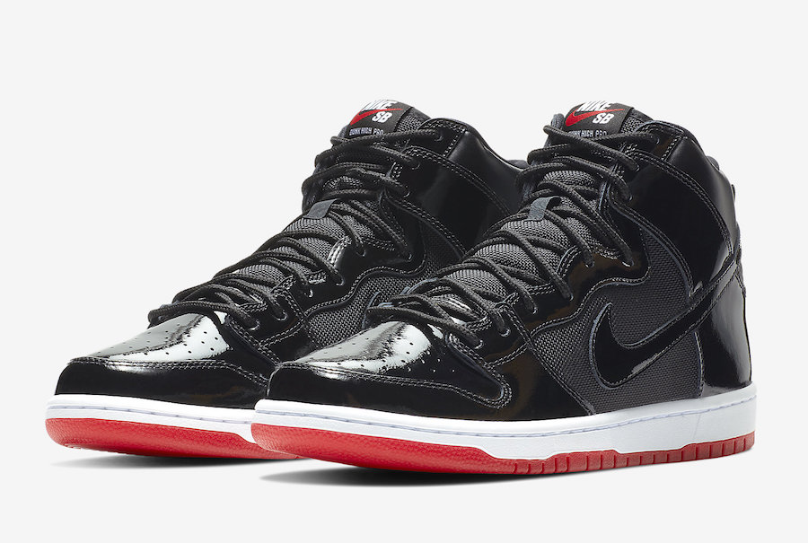 The Nike Dunk goes Bred