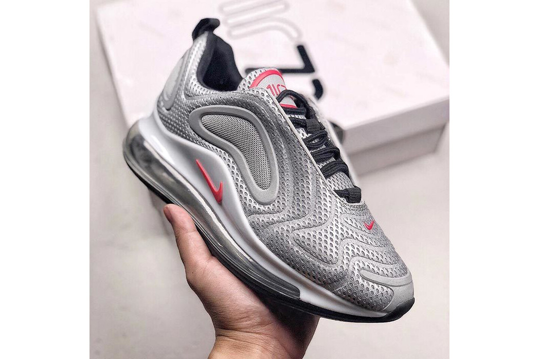 "quality design e17bf 550fa Nike Shoot the ""Silver Bullet"" Colorway to the Air Max 720"