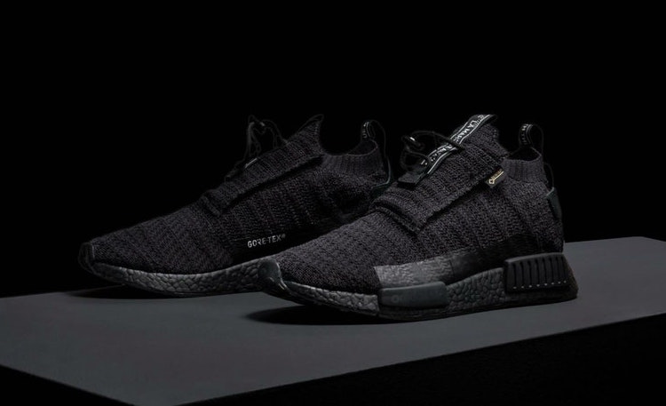 adidas and Gore Tex are Back with a Triple-Black Beast