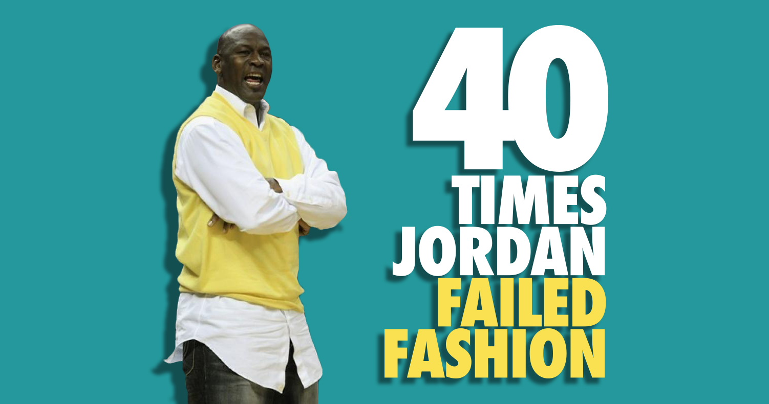 40 Times MJ Failed Fashion