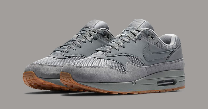 Available Now // Air Max 1 in Cool Grey and Gum